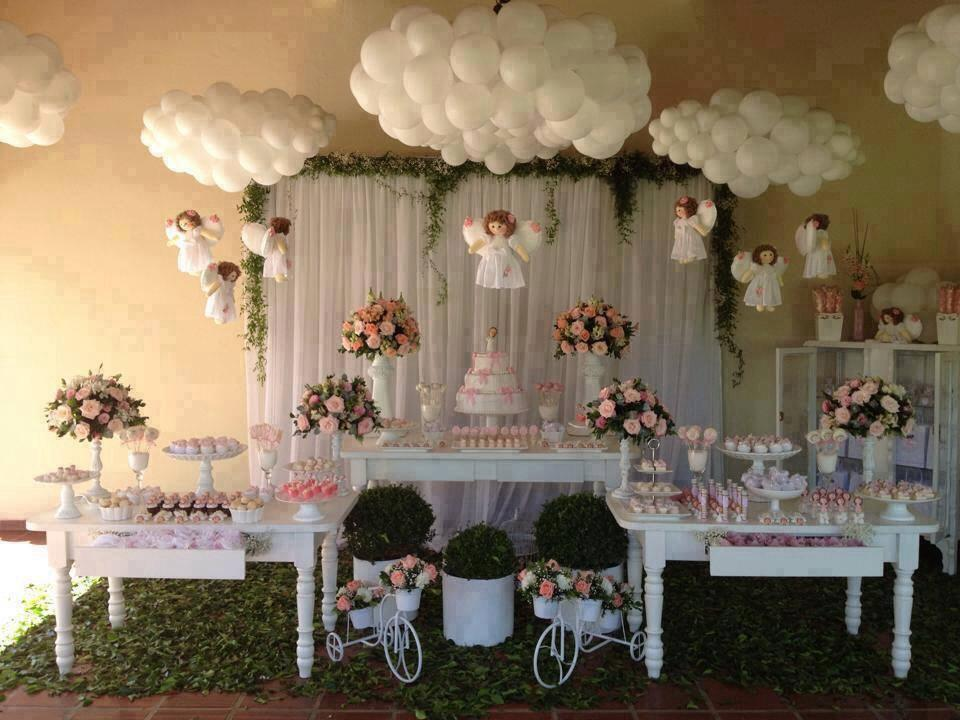 Tema Matrimonio De Amor : Batizado ki festa decorações
